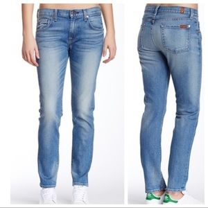 7 For All Mankind Relaxed Skinny Girlfriend Jeans